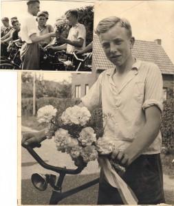 Piet winnaar 1955 grote prijs de Gelderlander Boxmeer